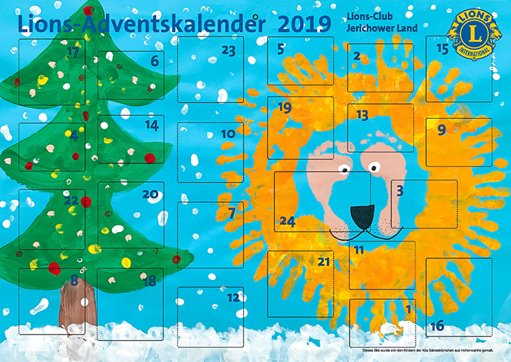 Lions-Club Jerichower Land Adventskalender 2019